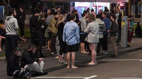 Nuova Zelanda colpita da un violento sisma. Ora si teme per uno Tzunami foto repubblica.it