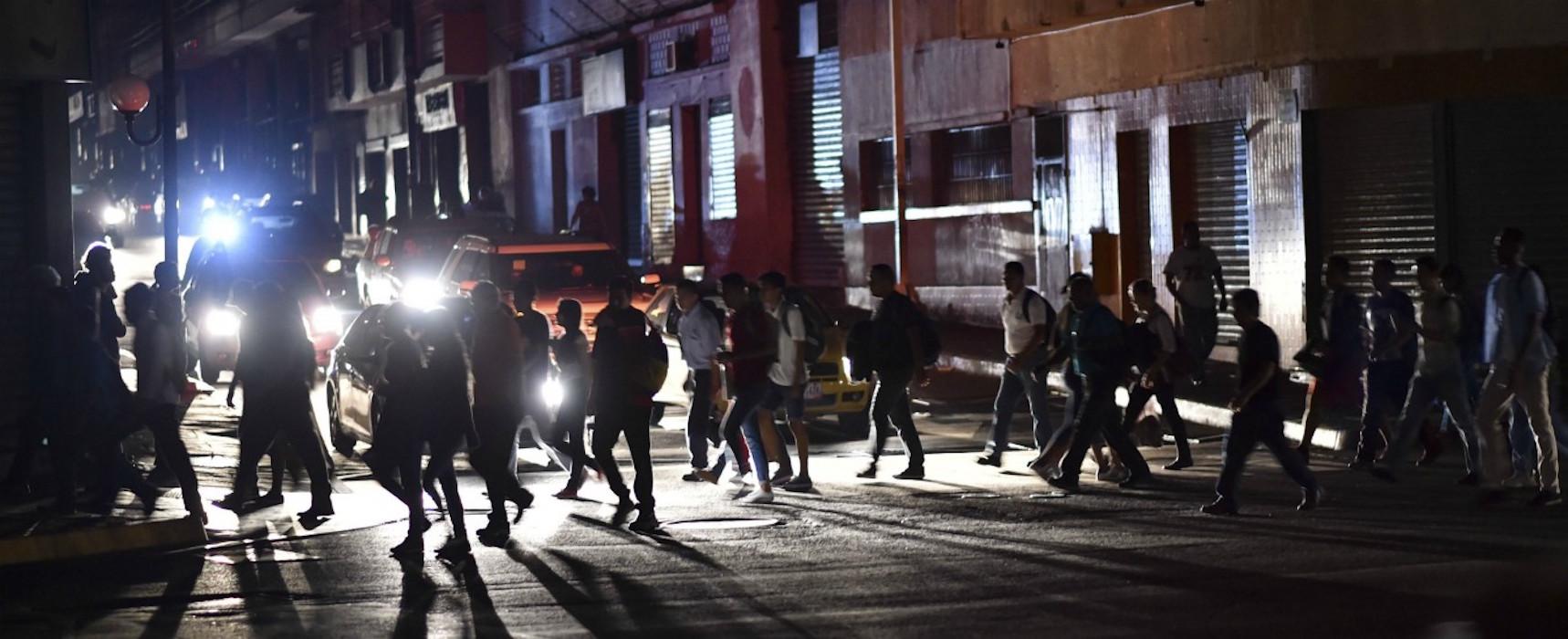 blackout venezuela